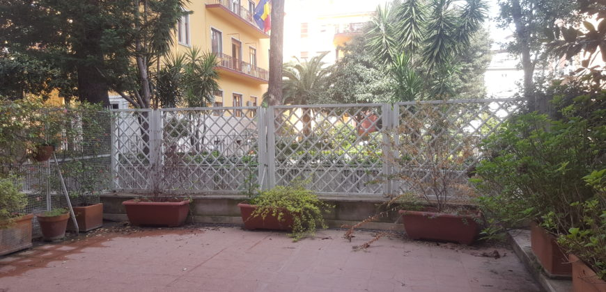 Parioli Piano terra con giardino