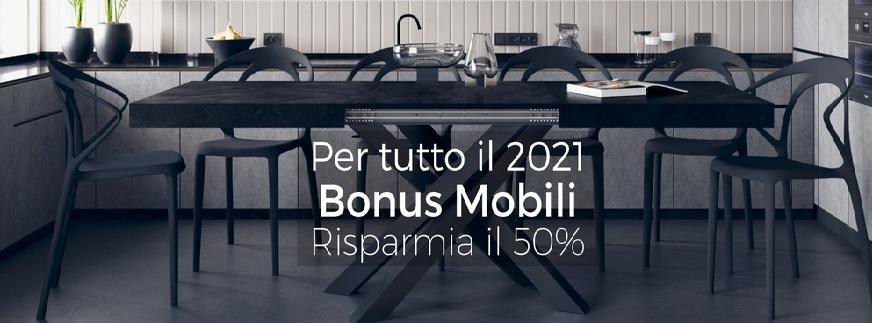 Bonus Mobili: 50% di DETRAZIONE